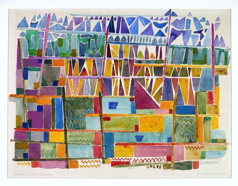 curth georg becker und rolf m ller landau farbe und licht kunstmuseum singen singen 25. Black Bedroom Furniture Sets. Home Design Ideas