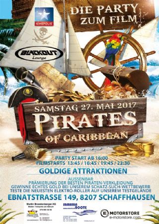 Party zum Film – Pirates of the Caribbean
