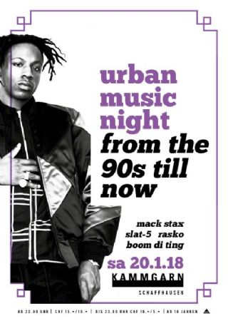 Urban Music Night