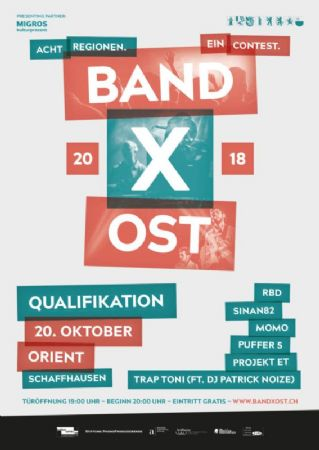 Band X Ost 2018
