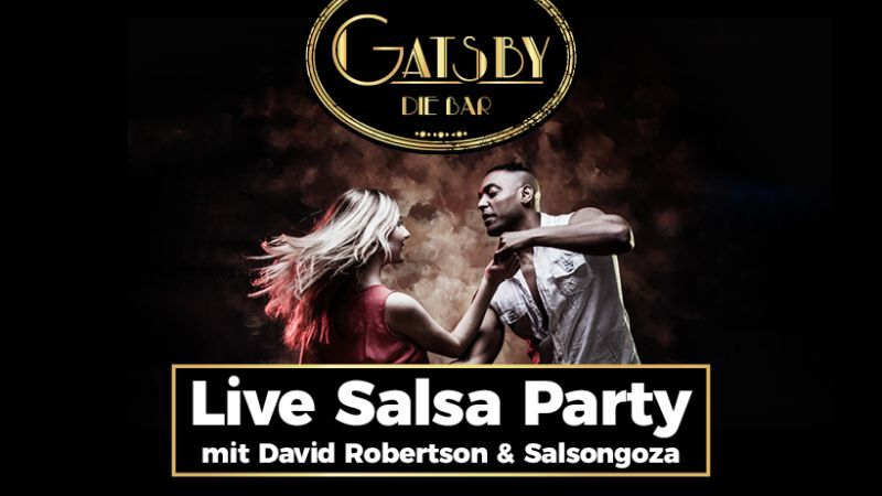 Live Salsa Party mit Salsongoza