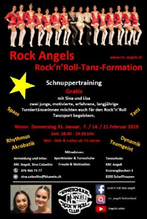 Schnuppertraining Rock´n´Roll Formationstanz