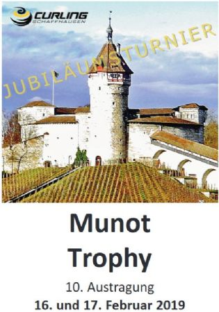 Curling: 10. Munot-Trophy