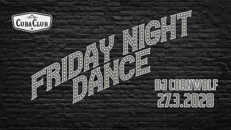 Friday Night Dance – ABGESAGT!