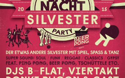 Die grosse Silvester Ballnacht-Motto-Party