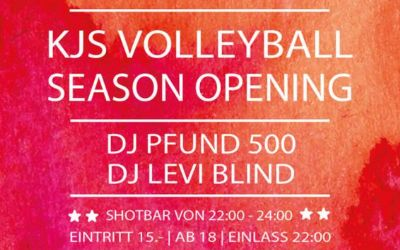 KJS Volleyball Season Opening