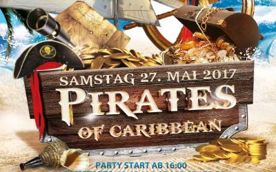 Party zum Film - Pirates of the Caribbean