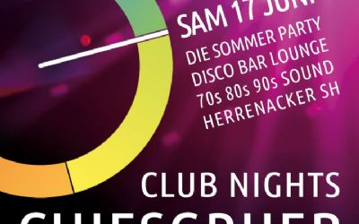 Chiesgrueb Club Night - Die Sommer Party
