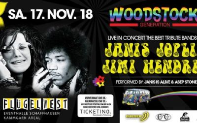Woodstock Generation Live Concert - Tribute Band of JANIS & JIMI - TICKETS ZU GEWINNEN!