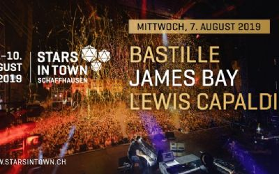 Stars in Town - Bastille, James Bay und Lewis Capaldi